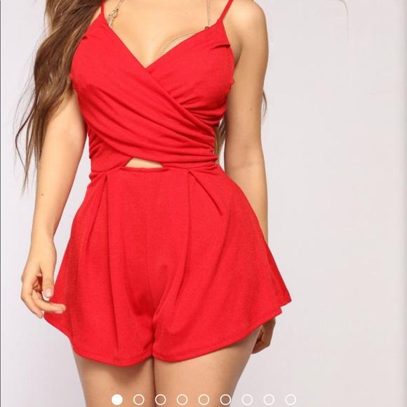 Fashion Nova Other - Red romper